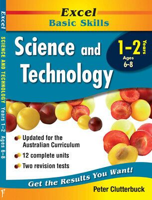Excel Basic Skills - Science & Technology Years 1-2 Pascal Press 9781740200745