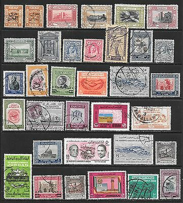 JORDAN Interesting and Diverse Mint and Used Issues Selection (Dec 0390)