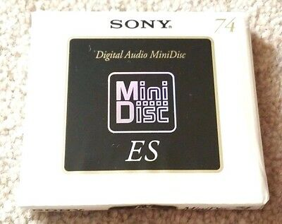 SONY MD74 ES  H.R. [High Resolution] MINIDISC - Made In Japan - Import
