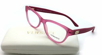 Brand New Authentic Versace Frame MOD 3204 5121 Pink/Fuchsia 53-15-140 MM/1999