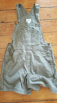 Womens Brown Dungarees