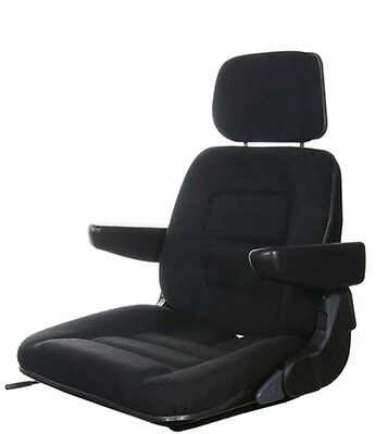 Tractor seat Forklift shell complete suitable for Grammer S85/90 Fabric