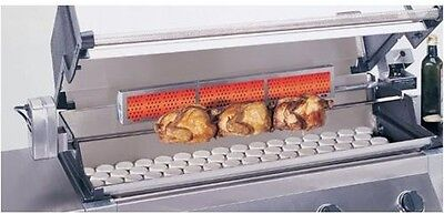 Professional American Outdoor Grill Stainless Steel 36 inch Rotisserie Kit RK36