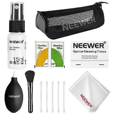 Neewer 7-in-1 Camera Cleaning Kit for DSLR Lens, Sensor and LCD Screen