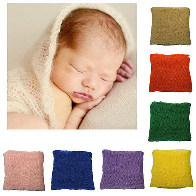 Mohair Cocoon Wrap Newborn Baby Boys Girls Photo Photography Prop Cloth Backdrop