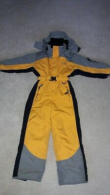 Ski suit unisex all in one - age 7