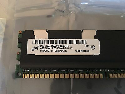 4GB ECC Server RAM - MT36JSZF51272PZ-1G4G1FE PC3-10600 CL9 DDR3-1333 1.5V