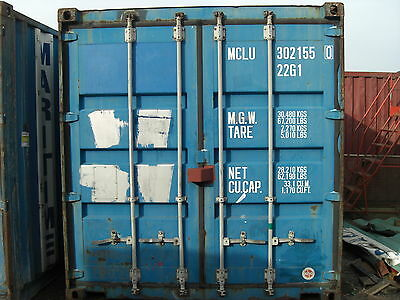 20ft X 8ft Storage unit/ Shipping Container