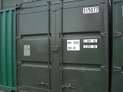 10X 8 ft  Storage units / Shipping Containers