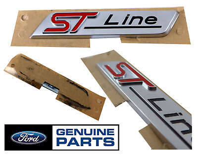Genuine Ford Kuga Focus Mondeo ST Line Decal Badge Front LH & RH Side