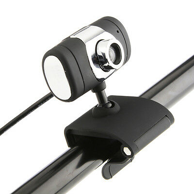 USB 2.0 HD Webcam Camera Web Cam With Microphone Mic LED For PC Laptop 1PC