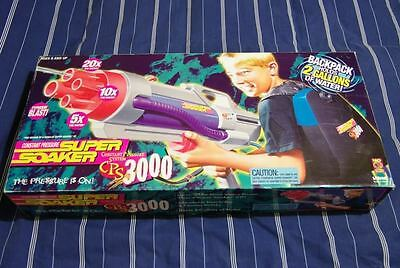 Super Soaker CPS 3000 working condition vintage 20 years old with box