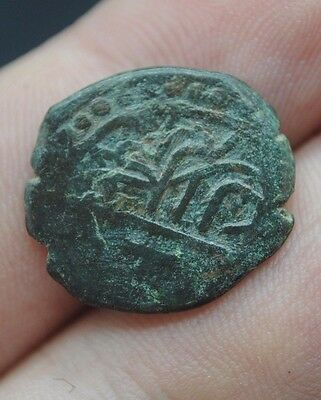 Ottoman Islamic Turkish Bronze Medieval Coin