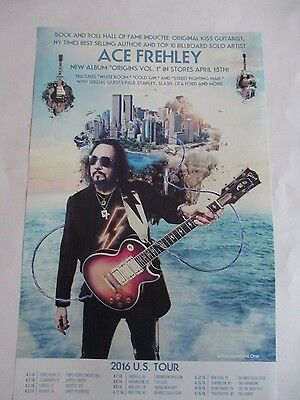 Ace Frehley 2016 Tour Poster Limited Promotional Origins Vol.1 11X17 NEW