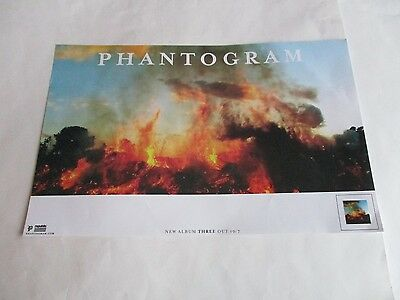 Phantogram Three Poster Limited Promotional 2016 11X17 NEW