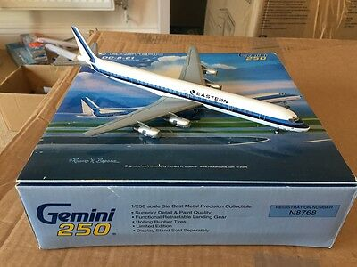 Eastern Airlines McDonnell Douglas DC-8-61 N8768 Model 1:250 Scale Gemini Jets
