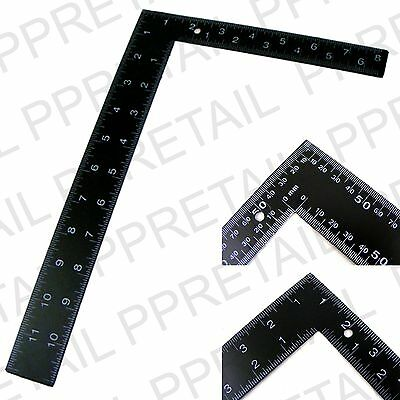 "8"" x 12"" ROOFING SQUARE Dual Marking Framing Carpenter"