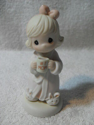 RARE Enesco Precious Moments - Thank You For The Time We Share 1997