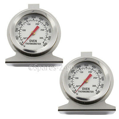 2x Teka Oven Thermometer Stainless Steel Oven Cooker Temperature Agas /& Rayburns
