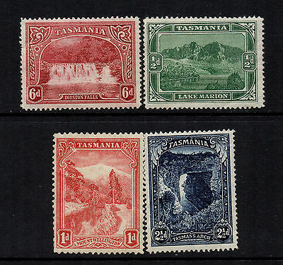 Tasmania 1899/1900 Defs Selection to 6d (4) - SG 229/230, 232 & 236 - MM