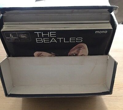 """The Beatles Collection EP 7"""" Vinyl Record Collection"""