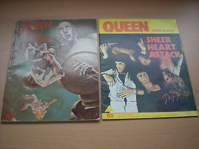 2 Old Queen Song Albums - Sheer Heart Attack & News Of The World