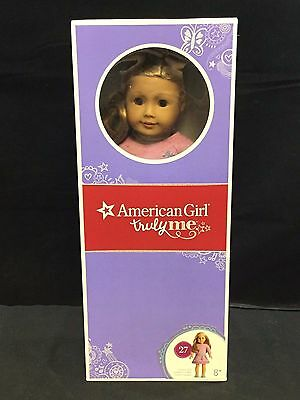 American Girl Doll Truly Me: Light Skin, Layered Blond Hair & Blue Eyes #27