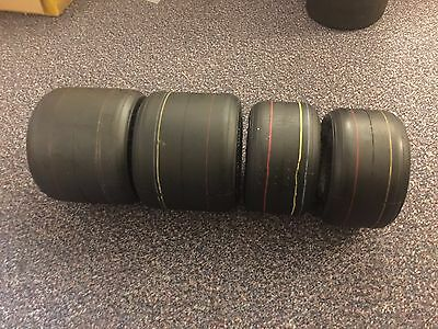 Set of Brand New Apexis Kart racing slicks