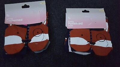 Tu Womens 6 pairs Of Socks Brand New With Tags Perfect For Gifts