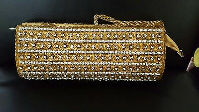 womens Diamonte wedding/Party handbag