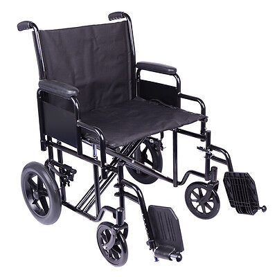 Bariatric Heavy Duty Transit Wheelchair by Viva Medi