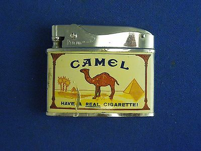 "Vintage Camel Cigarettes Lighter Penguin Brand Lighter ""Have a Real Cigarette"""