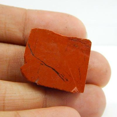 39.6 Cts 100% Natural Rough Specimen Red Jasper Nice Piece L#85-4