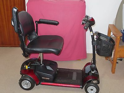 Mobility scooter. Pride GoGo Elite Traveller. Portable fits in boot