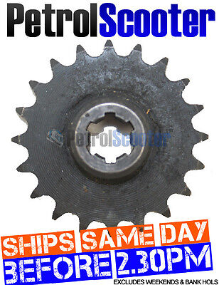 Gas Scooter 20 Tooth 8mm Gearbox Drive Sprocket 6 Spline Fits Engine Pictured