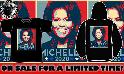 Michelle Obama For Prez 2020 T-Shirt & Hoodie