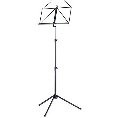 Konig and Meyer Folding Music Stand - Black