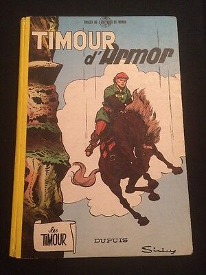 Les Timour 12 - Timour d'Armor - EO dos rond Dupuis 1962 - BE
