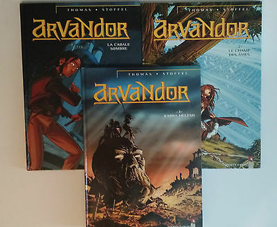 Arvandor  ***  Tome 1 A Tome 3  ***   Eo Be  Thomas/Stoffel
