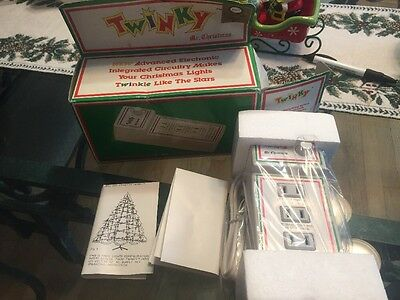 Vintage Mr Christmas Twinky Variable Blinking Christmas Light Controller New
