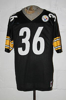 VTG Champion Pittsburgh Steelers Jerome Bettis The Bus NFL Football Jersey  Sz 44 f8a3cc457