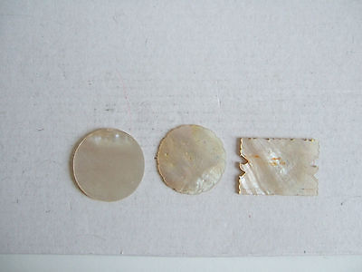 Antique Chinese Mother Of Pearl Gaming Counters /for Needlework Read Notes