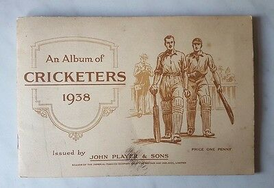Players AN ALBUM OF CRICKETERS 1938 - FULL SET 50 CARDS Stuck In