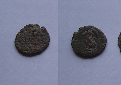 Valens AE3.-- Victory coin --  AD 364-378.