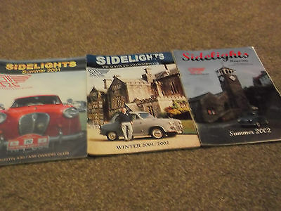 Austin A30/a35 Sidelights Owners Club Magazine 2001/2001-2002/2002