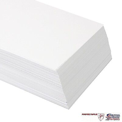 100 Sheets A4 PREMIUM White CARD 250gsm Color Copy THICK Craft Stock SMOOTH