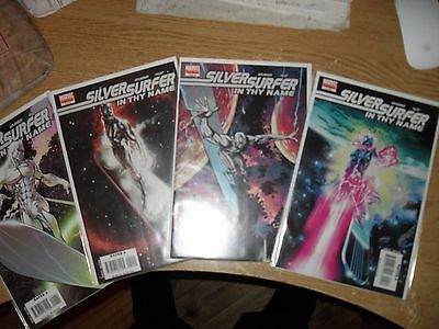 Silver Surfer In Thy Name 1-4 complete set