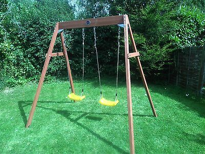 Wooden Swing Set, 2 Seats, by PLUM.  Brand NEW in the BOX!!