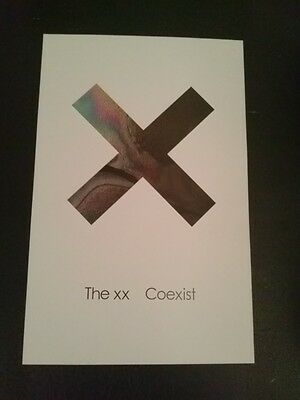 The XX POSTER Coexist - 11x17 double sided indie rare