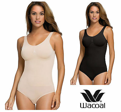 Wacoal B-Smooth Low Back Shapping Body 836275 Black or Nude * New Shapewear